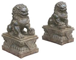 pictures of foo dogs pair carving green marble fenshui foo dogs