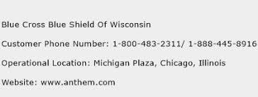 Shield Customer Service Blue Cross Blue Shield Of Wisconsin Customer Service Phone Number