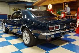 blue 68 camaro 1968 chevrolet camaro fathom blue a e cars