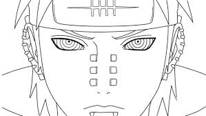 akatsuki coloring pages naruto pain coloring pages sketch coloring page