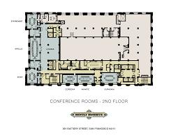 San Francisco Floor Plans Conference Center Lounge
