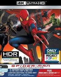 spider man legacy collection 4k ultra hd blu ray blu ray