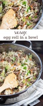 best 25 pork sausage recipes ideas on ground sausage