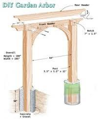 garden arbor plans family handyman inspired garden arbor built by smart girls diy