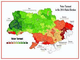 2014 Election Map by 2014 Ukrainian Parliamentary Election Voices From Russia