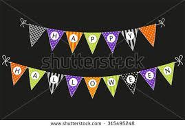 halloween party vector buntings download free vector art stock