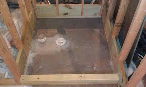 basement shower drain best shower