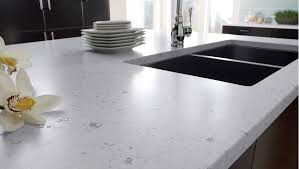 Modern Kitchen Sink Design by Furniture White Kitchen Cabinets With Silestone Vs Granite And