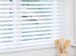 How To Paint Wood Blinds Faux Wood Blinds Are Resistant To Moisture