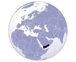 where is yemen on the map maps of yemen detailed map of yemen in tourist map