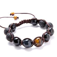 macrame bead bracelet images Luxury lava tiger 39 s eye macrame beaded bracelet mr peachy jpg