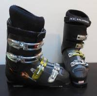 womens ski boots size 9 salomon optima ski boots s size us 9 330 26 0 purple