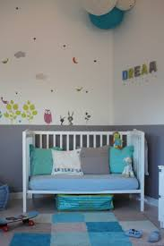 chambre bébé gris et turquoise chambre bebe gris bleu collection avec collection et deco peinture