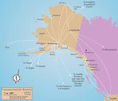 alaska air map air routes and flight times
