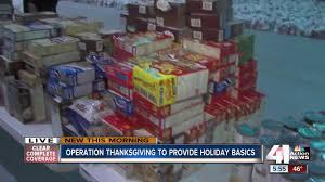 operation thanksgiving to provide basics to metro families