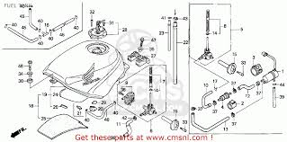 honda cbr 600 models honda cbr600f2 supersport 1993 p usa fuel tank schematic