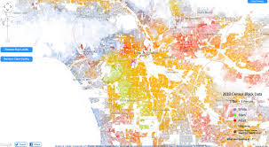Chicago Neighborhood Crime Map by Incredibly Detailed Map Shows Race Segregation Across America In
