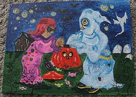 awesome halloween pictures 27 halloween paintings art ideas pictures images design
