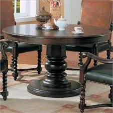 fresh decoration dark wood round dining table super design ideas