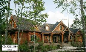 cottage home plans mountain cottage house plan house plans by garrell