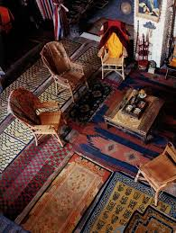 tappeto etnico tappeti indiani arredare la casa in stile etnico