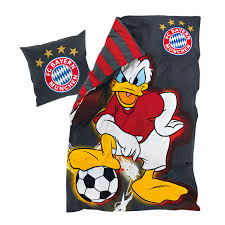 bed linen disney donald duck official fc bayern online store