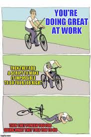 Bike Crash Meme - image tagged in bike crash imgflip