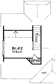 Bunkie Floor Plans by Cottage Style House Plan 2 Beds 1 00 Baths 828 Sq Ft Plan 41 103