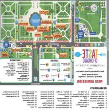taste of chicago map taste of chicago map i need to gooooo chicago