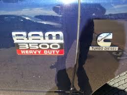 Dodge Ram 3500 Cummins 2012 - 35 991 for sale blue 2012 ram 3500 crew cab 4x4 cummins diesel
