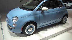 2014 fiat 500 1957 retro edition walk around youtube