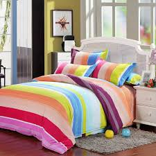 Girls Striped Bedding by Online Get Cheap Rainbow Stripe Bedding Aliexpress Com Alibaba