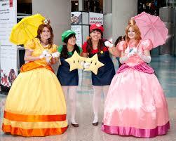 princess daisy halloween costume image gallery of princess peach and daisy costume