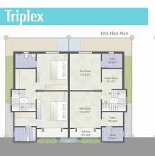 Triplex House Plans Akshar Pavilion 2 3 4 Bhk Flats Duplex Triplex Shops Offices Vadodara