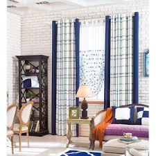 Blue Plaid Curtains Buy Blue Plaid Curtains Highendcurtain