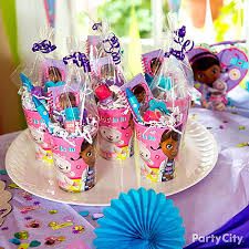 doc mcstuffin party supplies doc mcstuffins favor cups filled with cutesy favors are the perf