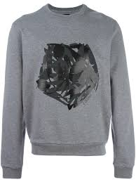 z zegna abstract print sweatshirt 7b1 men clothing sweatshirts usa