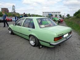 opel green opel rekord e opel tuning pinterest cars