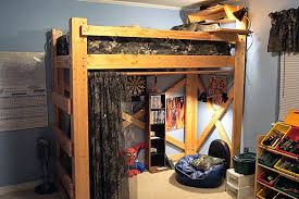 Instructions For Making A Loft Bed by Diy Project How To Make A Loft Bed For Your Dorm Room Homejelly