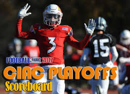 football the 2017 ciac playoff pairings schedule scoreboard
