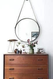 round hanging mirror kmart round hanging mirror target black round