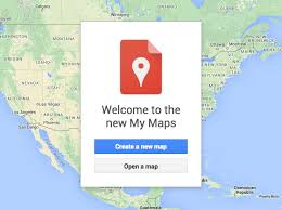 map new map how to create a custom travel map with maps new my