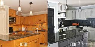 paint stained kitchen cabinets how to quickly paint kitchen cabinets without sanding