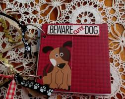 dog scrapbook album shabby chic album etsy