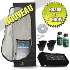 kit chambre de culture led kit leds croissance guerilla box 40 cityplantes growshop en ligne