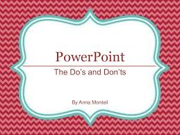 ed tech do u0027s and don u0027ts of powerpoint
