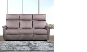 canapé tissu taupe canape relax tissus 3 places canapac 3 places relax aclectrique en