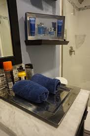 Masculine Bathroom Decor Mini Manly Bathroom Makeover