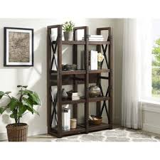 Mahogany Effect Bookcase Mahogany Bookcases You U0027ll Love Wayfair