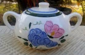 stangl pottery fruit and flowers stangl pottery fruit flowers covered sugar bowl ebay